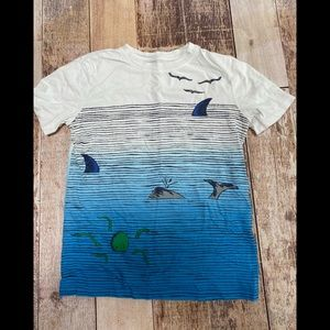 Other - Lands End sea themed t-shirt size M